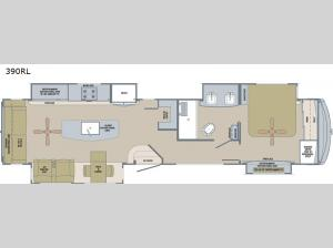 River Ranch 390RL Floorplan Image
