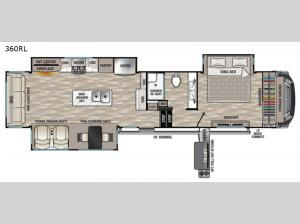 Cedar Creek 360RL Floorplan Image