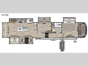 Cedar Creek 377OF Floorplan Image