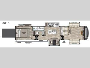 Cedar Creek 385TH Floorplan Image