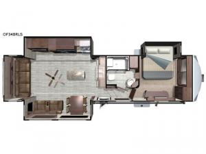 Open Range OF348RLS Floorplan Image