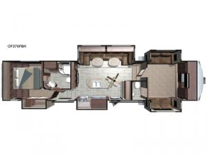 Open Range OF376FBH Floorplan Image