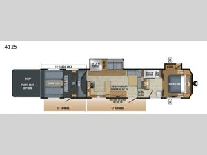 Seismic 4125 Floorplan Image
