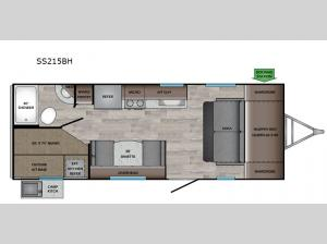 Sunset Trail SS215BH Floorplan Image