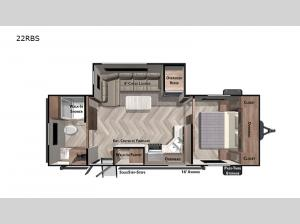 Salem 22RBS Floorplan Image