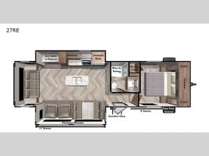 Salem 27RE Floorplan Image