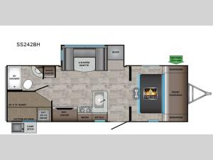 Sunset Trail SS242BH Floorplan Image