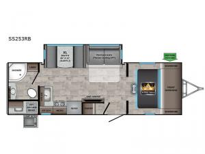 Sunset Trail SS253RB Floorplan Image