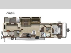 Open Range Light LT331BHS Floorplan Image