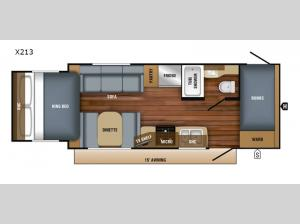 Jay Feather X213 Floorplan Image