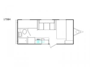 DREAM 175BH Floorplan Image