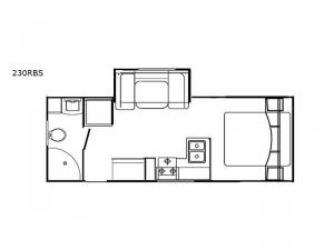 DREAM 230RBS Floorplan Image