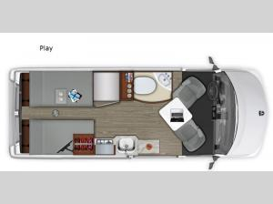 Roadtrek Play Floorplan Image