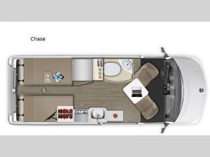 Roadtrek Chase Floorplan Image