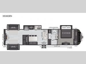Sprinter Limited 3530DEN Floorplan Image