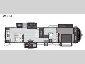 Sprinter Limited 3550MLS Floorplan Image