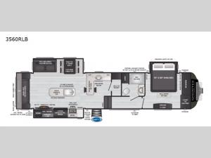 Sprinter Limited 3560RLB Floorplan Image