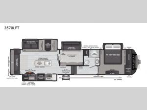Sprinter Limited 3570LFT Floorplan Image