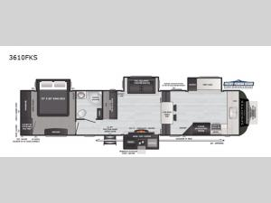 Sprinter Limited 3610FKS Floorplan Image