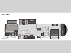 Sprinter Limited 3620LBH Floorplan Image