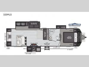 Sprinter Limited 320MLS Floorplan Image