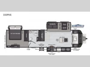Sprinter Limited 333FKS Floorplan Image