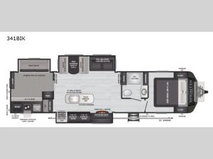 Sprinter Limited 341BIK Floorplan Image