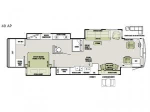 Allegro Bus 40 AP Floorplan Image