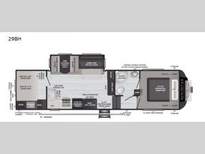 Sprinter 29BH Floorplan Image