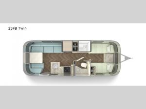 International 25FB Twin Floorplan Image