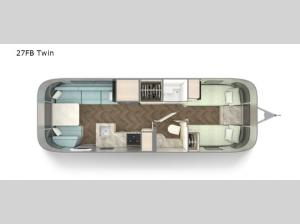 International 27FB Twin Floorplan Image