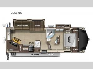 Open Range Light LF250RES Floorplan Image
