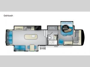 Landmark 365 Oshkosh Floorplan Image