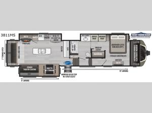 Montana 3811MS Floorplan Image