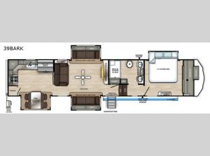Sierra 39BARK Floorplan Image