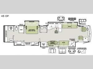 Allegro Bus 45 OP Floorplan Image