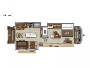 Pinnacle 37RLWS Floorplan Image