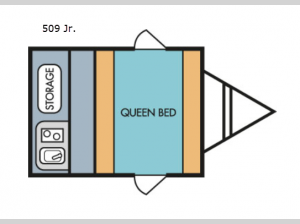 Retro 509 Jr. Floorplan Image