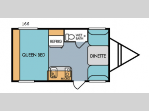Retro 166 Floorplan Image
