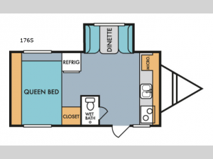Retro 176S Floorplan Image