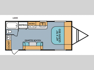 Retro 189R Floorplan Image