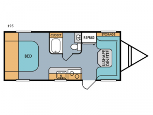 Retro 195 Floorplan Image
