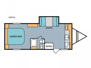 Retro 199FKS Floorplan Image