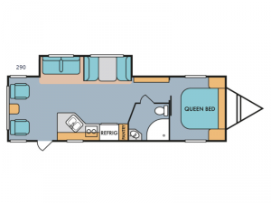 Retro 290 Floorplan Image