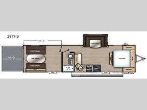 Catalina Trail Blazer 29THS Floorplan Image