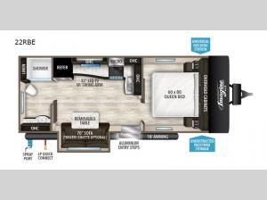 Imagine XLS 22RBE Floorplan Image