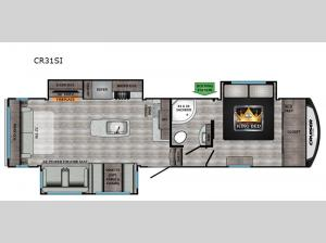 Cruiser Aire CR31SI Floorplan Image
