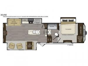 Avalanche 301RE Floorplan Image