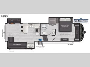 Montana High Country 281CK Floorplan Image