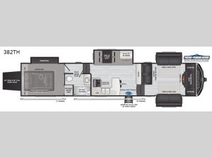 Montana High Country 382TH Floorplan Image